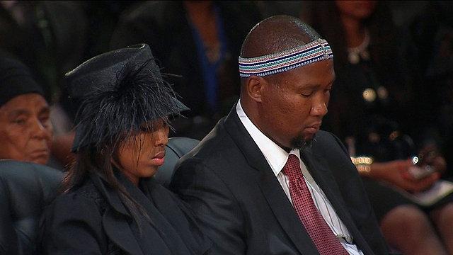 מנדלה מנדלה, נכדו של נשיא דרום אפריקה המנוח (צילום: רויטרס)