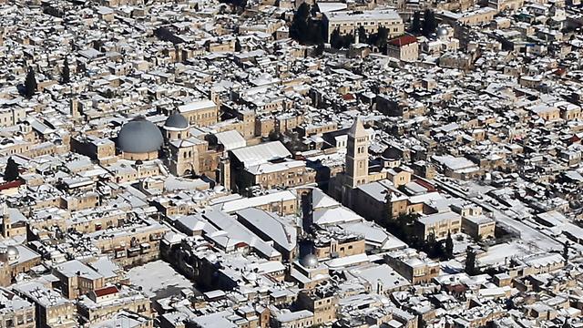 ירושלים בזמן הסופה (צילום: אילן ארד, Lowshot.com) (צילום: אילן ארד, Lowshot.com)