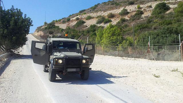 חששות כבדים בפיקוד הצפון. גבול לבנון (צילום: יואב זיתון) (צילום: יואב זיתון)