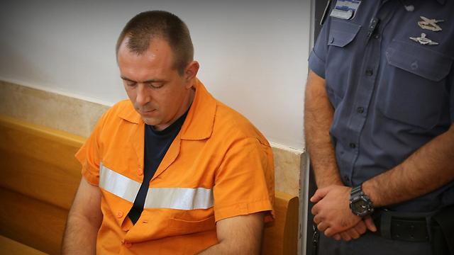 Роман Задоров во время оглашения очередного приговора. Фото: Хаги Ахарон