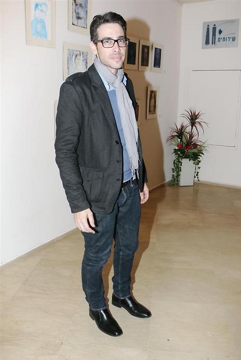 """""""אדם אופטימי"""", פרישר גוטמן (צילום: רפי דלויה) (צילום: רפי דלויה)"""
