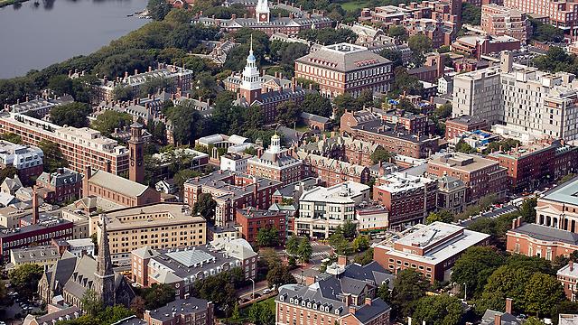 """החוב הכולל של הסטודנטים בארה""""ב כיום הוא מעל 1.3 טריליון דולר. מתחם אוניברסיטת הרווארד, קיימברידג', מסצ'וסטס (צילום: גטי אימג'בנק) (צילום: גטי אימג'בנק)"""