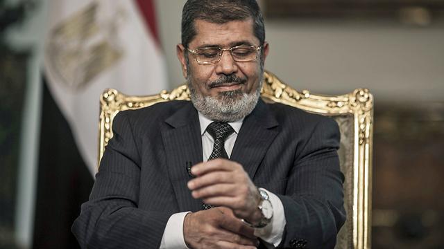 דרדר את כלכלת מצרים. מורסי (צילום: EPA) (צילום: EPA)