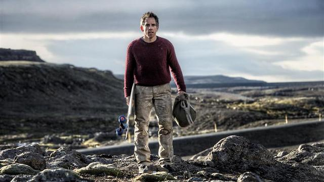 Ben Stiller in Iceland in 'The Secret Life of Walter Mitty'