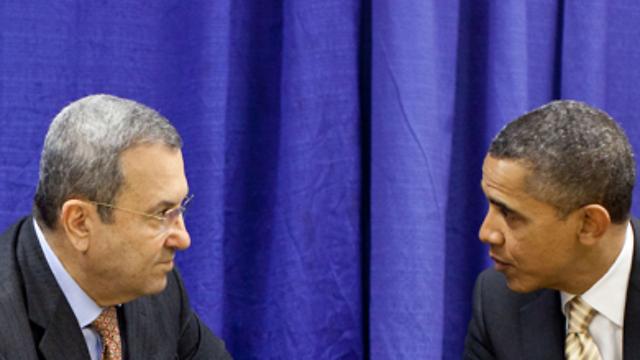 ברק אובמה ואהוד ברק. קרא את המיילים מאולמרט (צילום: באדיבות הבית הלבן) (צילום: באדיבות הבית הלבן)