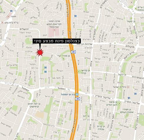 זירת הפיצוץ (Google maps) (Google maps)