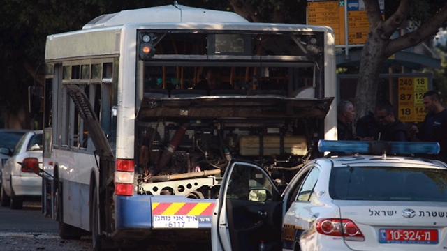 Bat Yam bus bombing (Photo: Motti Kimchi)