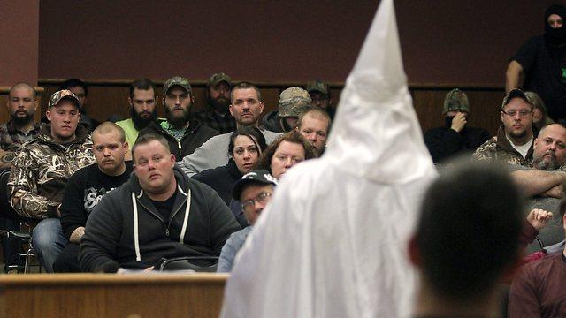 KKK gathering (Photo: AP)