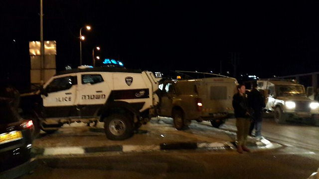 Police at the site (Photo: Jerusalem District Police) (Photo: Jerusalem District Police)