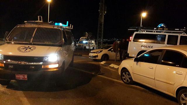Scene of the crime (Photo: Jerusalem District Police) (Photo: Jerusalem District Police)