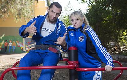 אנסטסיה קיריליוק ורועי פריינטה (צילום: עוז מועלם )