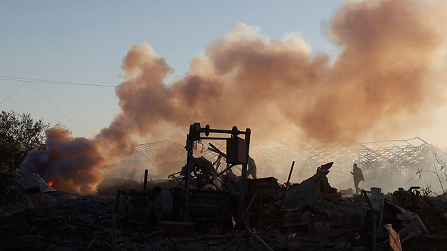 Gaza following strikes (Photo: Reuters)