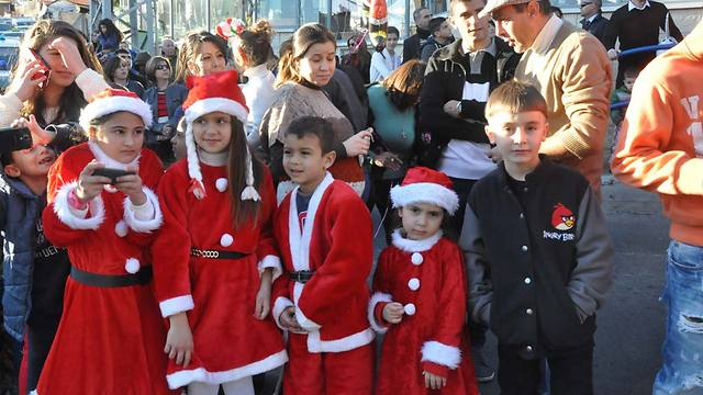 Christmas in Nazareth, 2013 (Photo: Anour Amara)