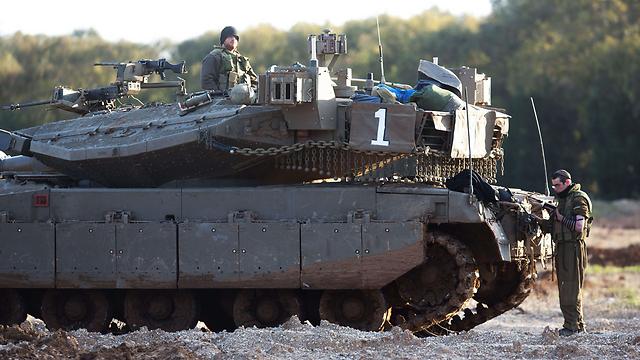 IDF on high alert near Gaza (Photo: AFP)