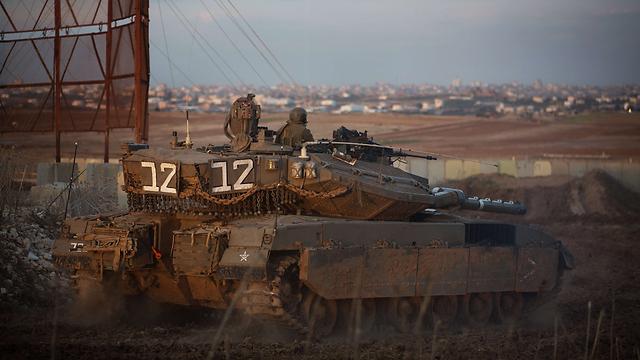 IDF forces on alert (Photo: AFP)