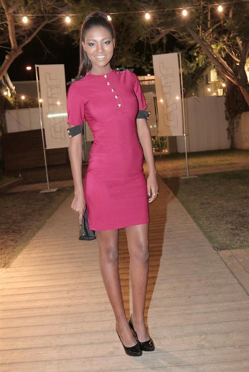 Miss Israel 2013 Titi Aynaw (Photo: Anat Mosberg)