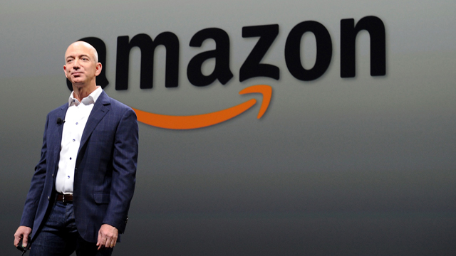 CEO of Amazon Jeff Bezos. (Photo: AFP)