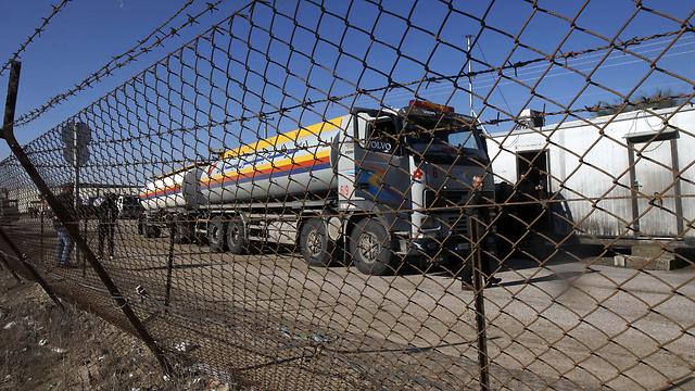 Kerem Shalom border crossing between Israel and Gaza (Archive: AFP)