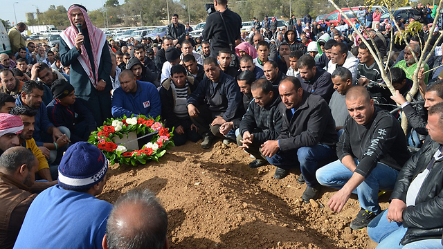 Funeral of Israeli killed in Tuesday's attack from Gaza (Photo: Panet Website)