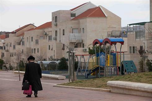 Beitar Illit settlement, about 10 kilometers from Jerusalem (Archive Photo: Ohad Zoinenberg)
