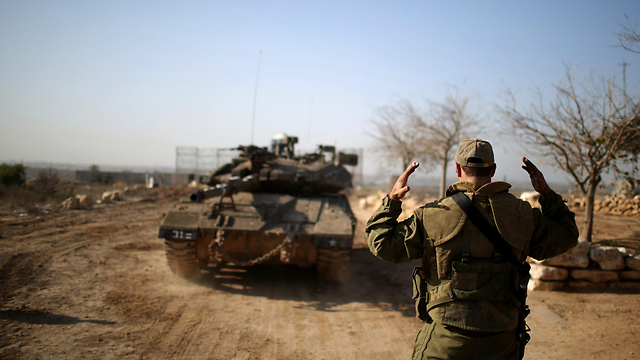IDF Merkava tank near Gaza Strip (Archive photo: EPA)