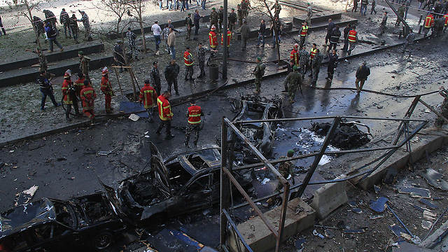Blast rips through central Beirut district (Photo: AFP)