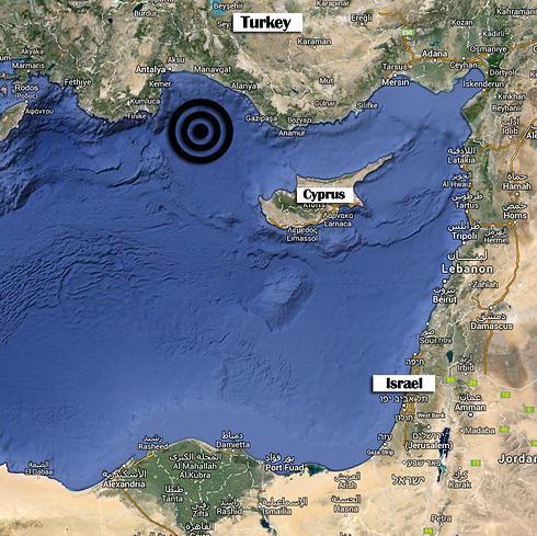 Earthquake epicenter map (Photo: Google Maps) (Photo: Google Maps)