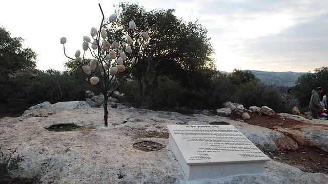 """האנדרטה לזכר שיירת הל""""ה (צילום: ירון רוזנטל) (צילום: ירון רוזנטל)"""