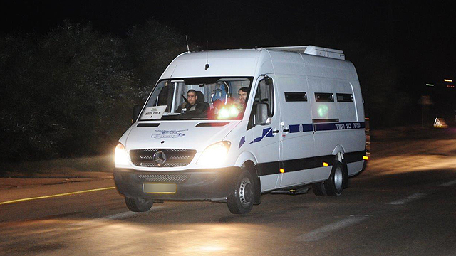 En route to Gaza (Photo: Herzl Yosef)