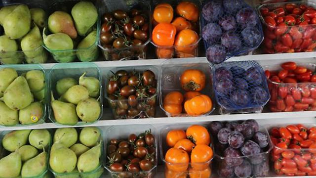 אולי בכל זאת עדיף פירות וירקות אורגניים (צילום: מוטי קמחי) (צילום: מוטי קמחי)