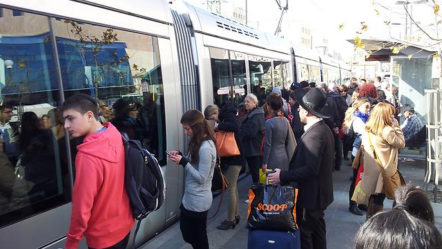 הרכבת הקלה בירושלים - סיפור הצלחה חלקי (צילום: נועם 'דבול' דביר) (צילום: נועם 'דבול' דביר)