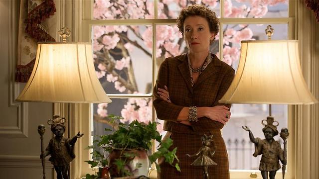 """אמה תומפסון בתפקיד טרברס ב""""להציל את מר בנקס"""". אישיות נחושה ביותר ()"""