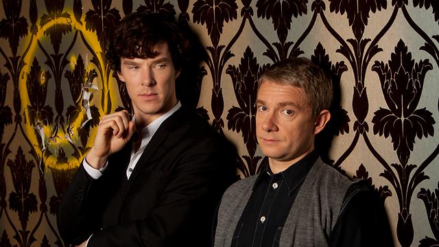 שרלוק וווטסון. מתח מיני מרומז  (צילום: BBC) (צילום: BBC)