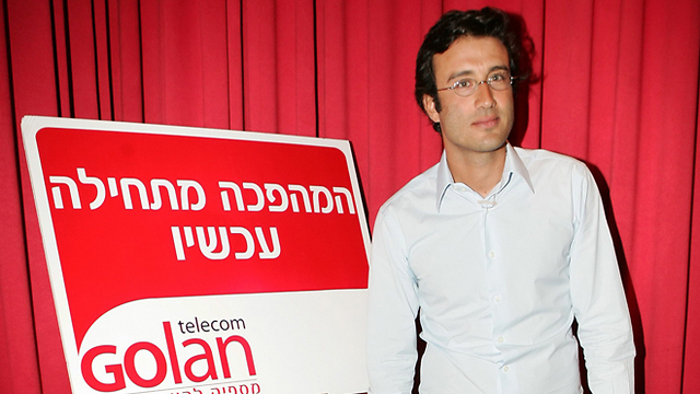 Golan Telecom founder Michael Golan. (Photo: Shuka Cohen)