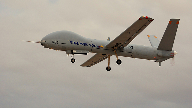 An Elbit Hermes 900 UAV (Photo: Elbit Systems) (Photo: Elbit Systems)