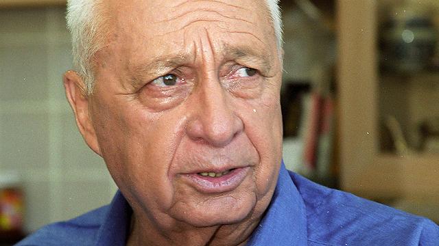 אריאל שרון. מעקב צמוד אחר מצבו (צילום: דוד רובינגר) (צילום: דוד רובינגר)
