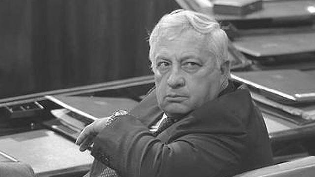 Ariel Sharon at Knesset Plenum, 1985 (Photo: Nati Harnik, GPO) (Photo: Nati Harnik, GPO)