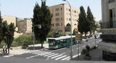 מתחם של דירות יוקרה שאינן בשימוש בירושלים (צילום: אלי מנדלבאום) (צילום: אלי מנדלבאום)