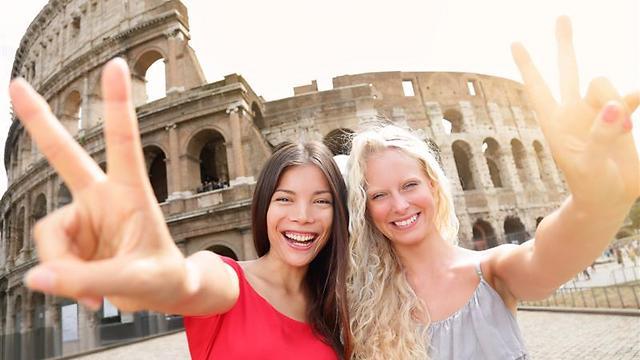 הקולוסיאום ברומא (צילום:shutterstock) (צילום:shutterstock)