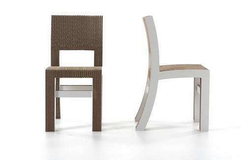 כיסאות מקרטון. ידידותיים לסביבה (צילום באדיבות פיטרו ריהוט משרדי) (צילום באדיבות פיטרו ריהוט משרדי)