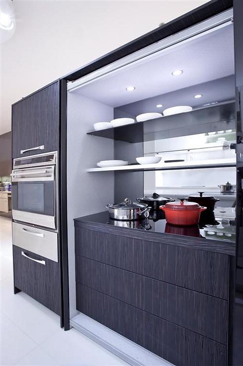 """""""משחקי מחבואים"""" במטבח. סמוי מן העין  (צילום באדיבות רשת Decor) (צילום באדיבות רשת Decor)"""
