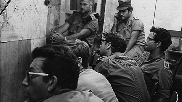 אמנון רשף בימי חטיבה 14 (צילום: אתר חטיבה 14) (צילום: אתר חטיבה 14)
