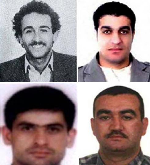 Hezbollah members accused of Hariri murder (Photo: AFP) (Photo: AFP)