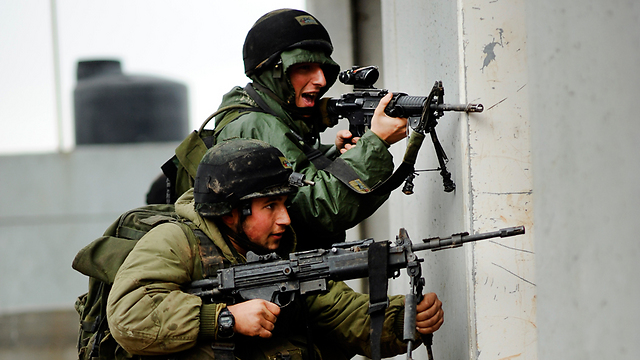 Ultra-Orthodox soldiers in the Netzah Yehuda platoon