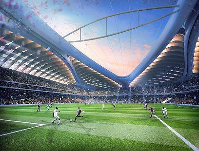 האצטדיון החדיש בקטאר. ייערכו בו בכלל משחקים? (צילום: AFP) (צילום: AFP)