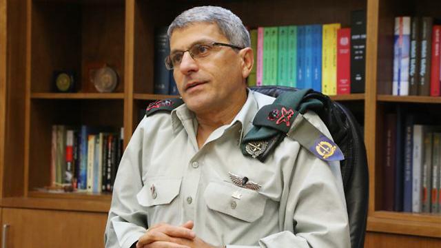 Military Advocate General Danny Efroni in interview (Photo: Motti Kimchi) (Photo: Motti Kimchi)