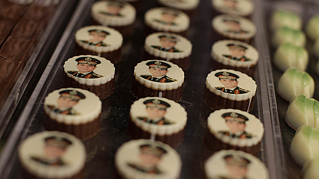 Chocolates with the image of Gen. el-Sissi (Photo: AP) (Photo: AP)