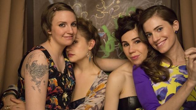 """""""בנות"""". משלבת רגעים אמיתיים ובדיוניים (צילום: HBO) (צילום: HBO)"""
