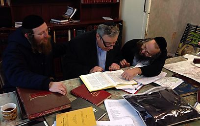 Struggling with the problem. 'It's all built in the best halachic way'