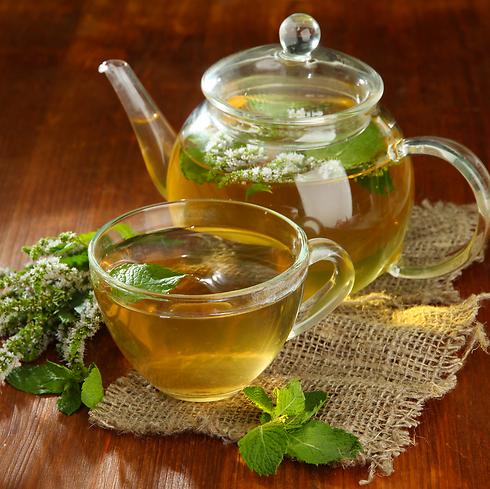 תה עם נענע עלול לגרום לייבוש החלב. עדיף לשתות רק לעיתים רחוקות (צילום: shutterstock)